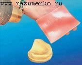 Пластина базисного воска
