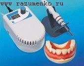 электрошпателя ЭШ 2.0 производится постановка зубов на воске